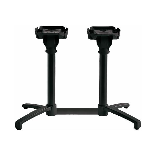 pied de table double x one grosfillex 55722017 e vente et installation de. Black Bedroom Furniture Sets. Home Design Ideas