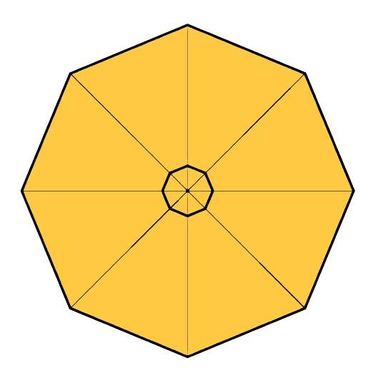 toiles pour parasols prostor p3 et p4 et p50. Black Bedroom Furniture Sets. Home Design Ideas