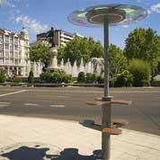 Parasol solaire usb