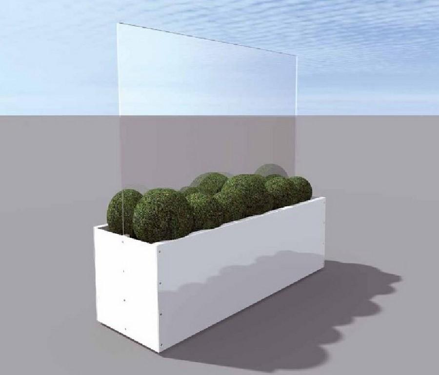 pare vent fleury casablanca jardini re composite orn e d. Black Bedroom Furniture Sets. Home Design Ideas
