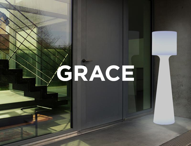 lampadaire ext rieur grace parasol professionnel de terrasse e terrasses. Black Bedroom Furniture Sets. Home Design Ideas