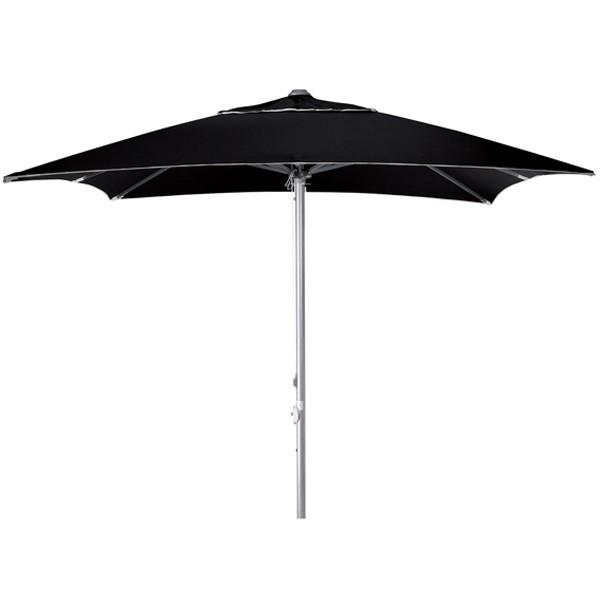 parasol terrasse carr toile combin e dralon batyline. Black Bedroom Furniture Sets. Home Design Ideas