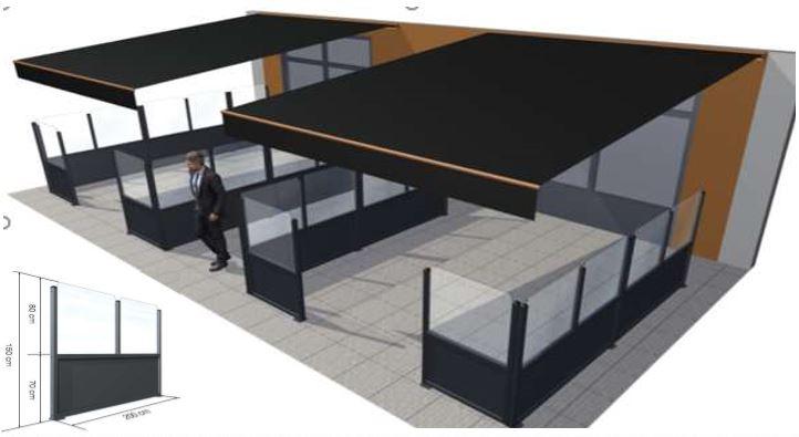 Protéger votre terrasse contre le vent avec les paravents et claustra de e-terrasses