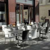 Tables pour la terrasse